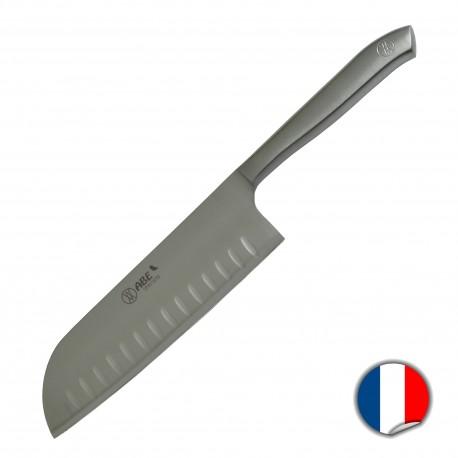 Couteau santoku alvéolé 17cm