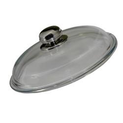 Couvercle verre gamme fonte 24cm