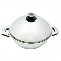 Sauteuse ABE 28cm couvercle bombé cuisson basse température