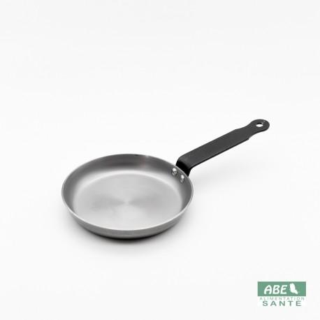 Poêle blinis en fer 14 cm