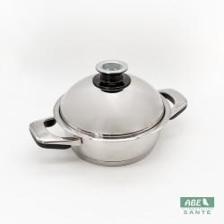 Sauteuse couvercle dôme 24cm cuisson basse température