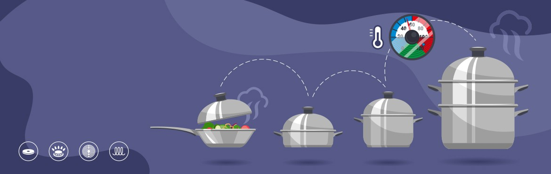 La gamme inox cuisson basse température